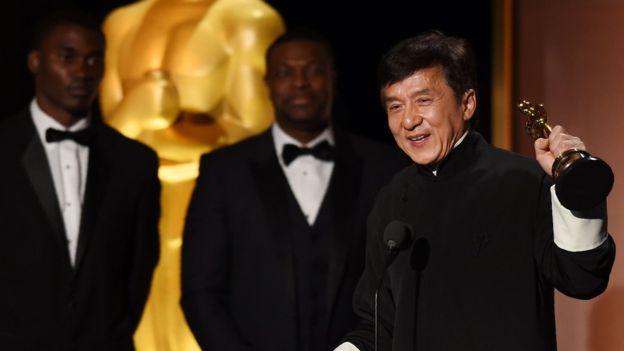 اسکار افتخاری جکی چان + عکس