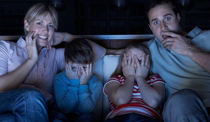 واکنش مغز در برابر تماشای فیلم های ترسناک