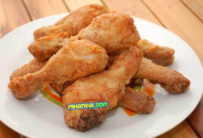 طرز تهیه مرغ کنتاکی ساده و فوری