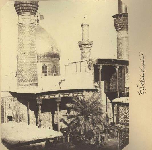 عکس قدیمی از حرم امام حسین (ع) در زمان قاجار