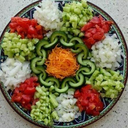 مدل های جدید تزیین خوراکی ها