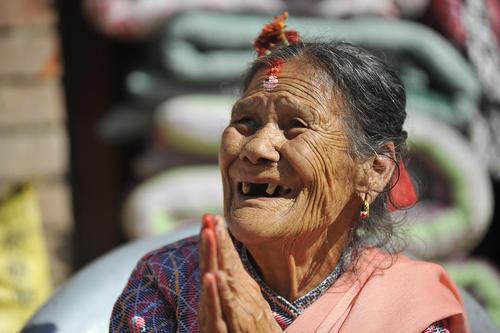 جشن سال نو نپالی در چهارمین روز از جشنواره آیینی دیوالی در شهر کاتماندو