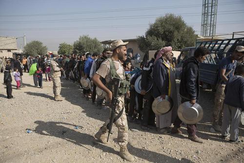 پیشرفت عملیات بازپس گیری موصل از داعش