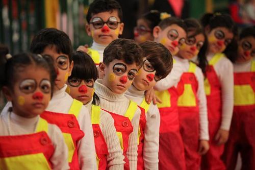 آیین های روز جهانی کودک در غزه