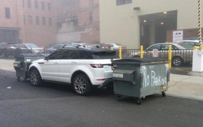 تصاویر خنده دار از عاقبت پارک نامناسب خودرو