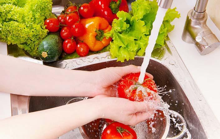 نکات مهم در شستن سبزیجات
