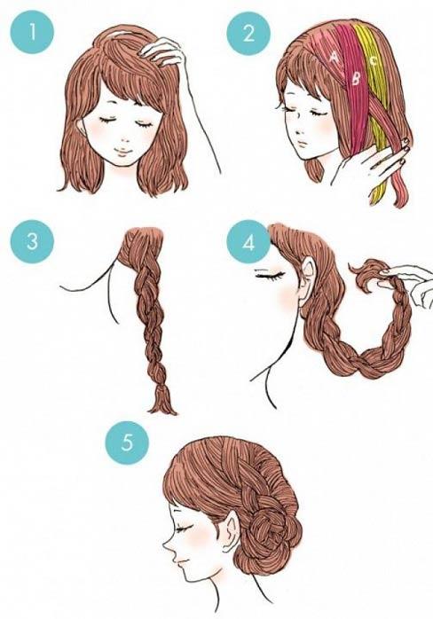 مدل های ساده و زیبای بستن مو