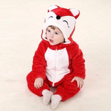 مدل های لباس بچه گانه با طرح حیوانات