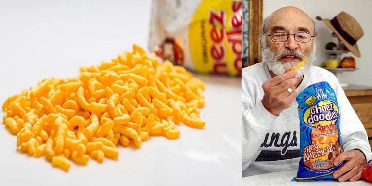 این آقا مخترع پفک نمکی است + عکس
