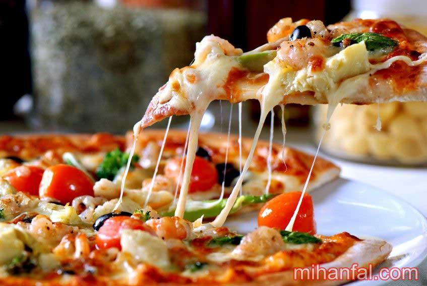 پس از خوردن یک برش پیتزا چه اتفاقی در بدن می افتد؟