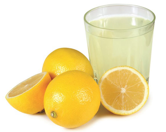 خواص آب ترب سفید و لیمو