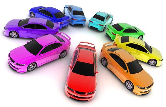 شخصیت شناسی از روی رنگ خودرو