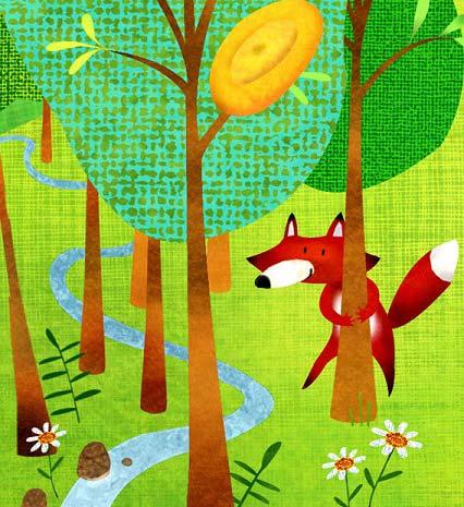 قصه کودکانه روباه مریض و گنجشک زرنگ