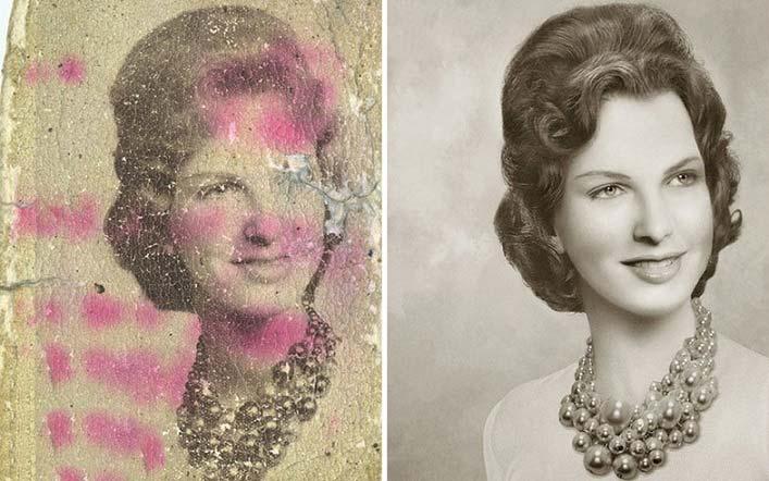 بازسازی حیرت انگیز تصاویر