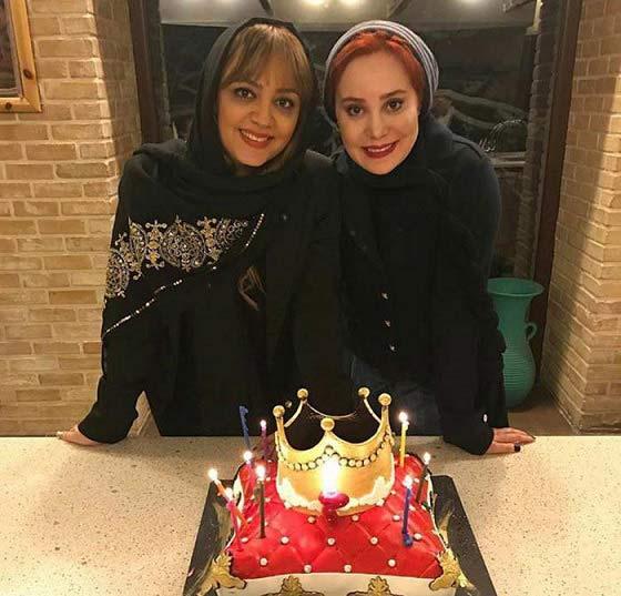 تصاویری از جشن تولد 36 سالگی آرام جعفری
