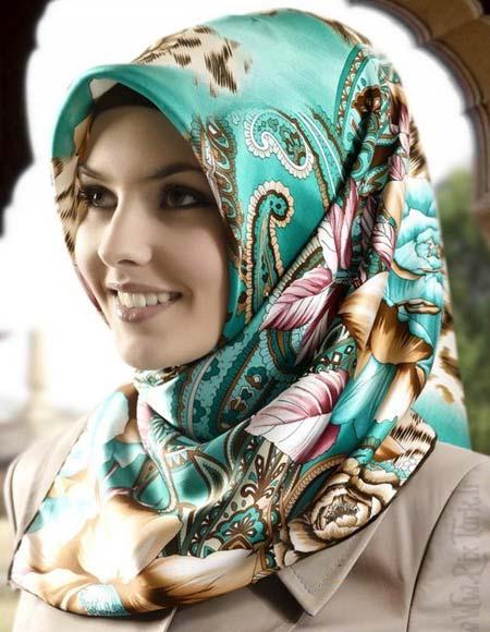 مدل روسری به رنگ سال 96