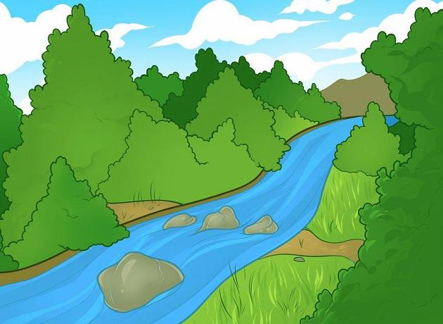 قصه جالب رودخانه تنها