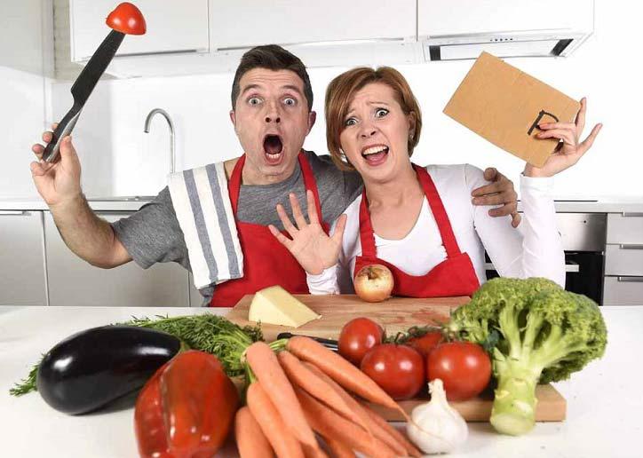 ۶ اشتباه آشپزهای تازه کار