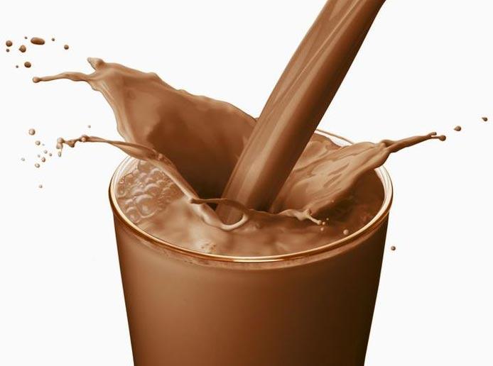 شیر کاکائو منبع غنی پروتئین
