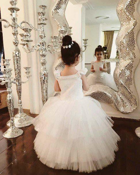 دختر محسن یگانه در لباس عروس + عکس