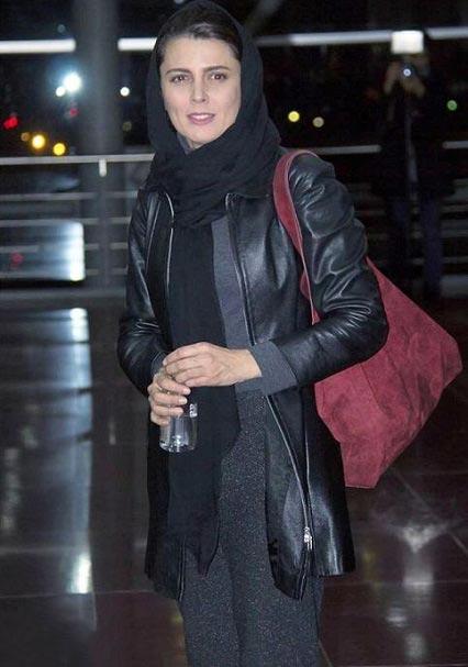 شلوار عجیب لیلا حاتمی در جشنواره فیلم فجر + عکس