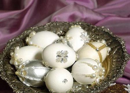 مدل های تزیین تخم مرغ سفره عقد