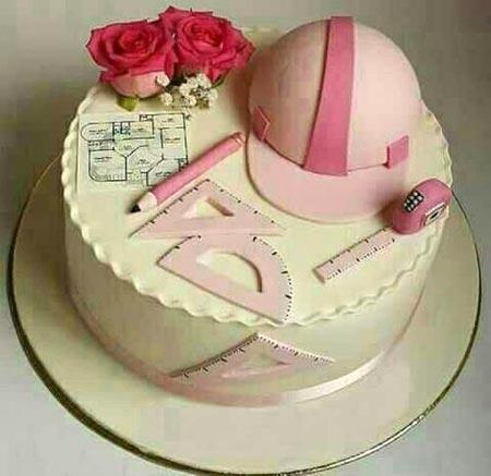 مدل کیک روز مهندس