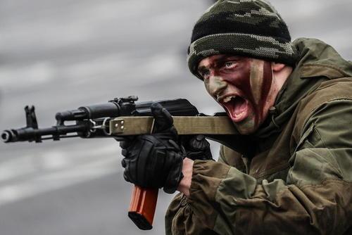 رزمایش یک روزه واحدهایی از ارتش روسیه – مسکو