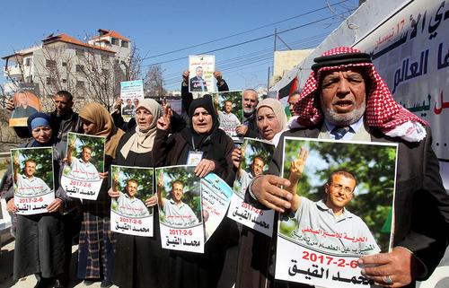 تظاهرات همبستگی با زندانیان فلسطینی – کرانه غربی