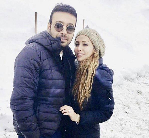 عکس جدید محسن چاوشی و همسرش