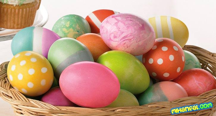 روش رنگ کردن تخم مرغ هفت سین
