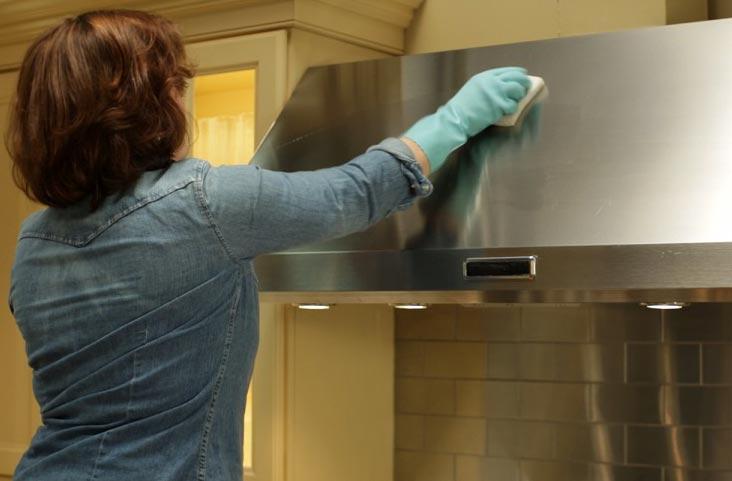 بهترین روش پاک کردن هود آشپزخانه