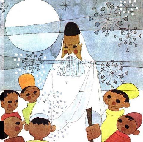قصه کودکانه بابا برفی