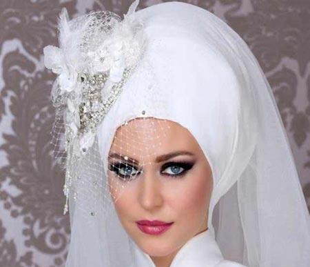مدل های زیبای تاج و تور عروس