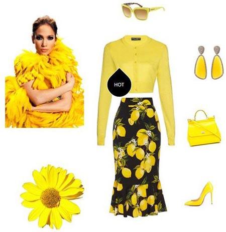 مدل های ست لباس بهاری به سبک جنیفر لوپز