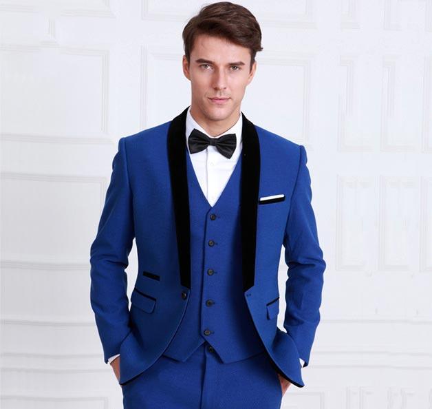 با کت و شلوار آبی چه رنگ پیراهنی را ست کنیم؟