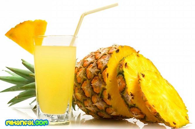 خواص شگفت انگیز آب آناناس