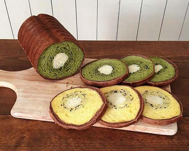نان های جالب زن ژاپنی + تصاویر