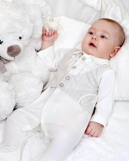 مدل های ست لباس سفید نوزاد دختر و پسر