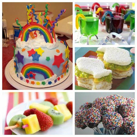 تصاویری از تزیین خوراکی های جشن تولد
