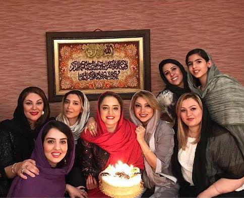 جشن تولد 32 سالگی نرگس محمدی + تصاویر