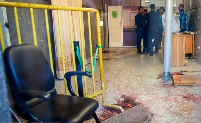 مسیر ورود تروریست ها به مجلس + تصاویر