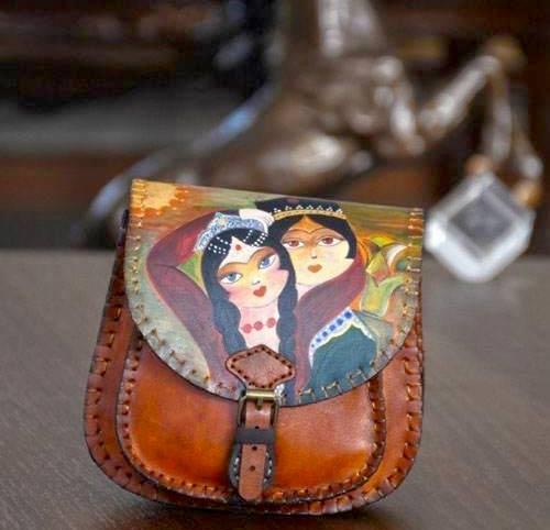 مدل های کیف چرم سنتی زنانه