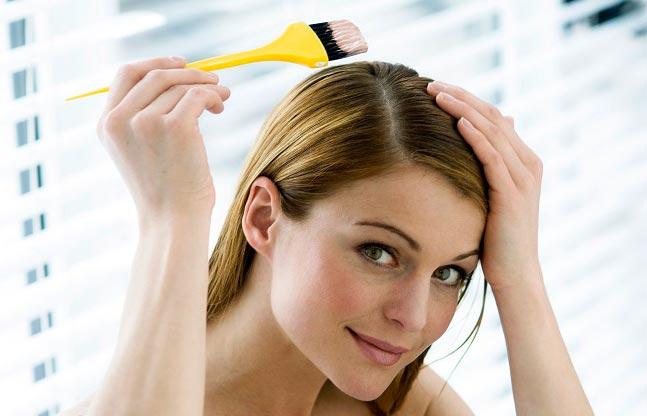 فوت و فن رنگ کردن مو در منزل