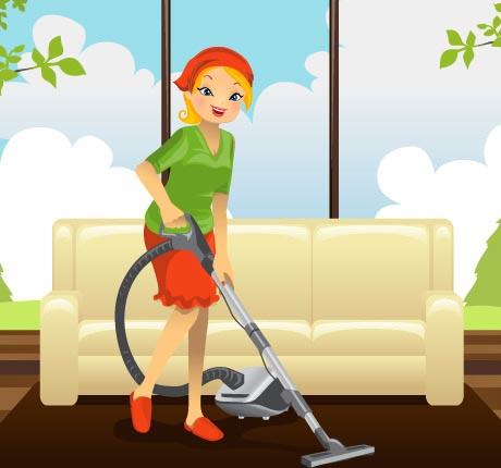 خانم های شاغل به آسانی خانه تکانی کنید