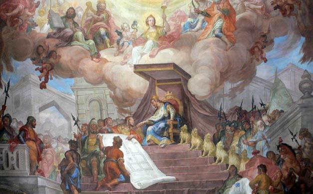 چرا فرزند حضرت سلیمان (ع) معلول بود؟