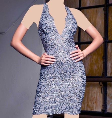 مدل های لباس مجلسی کوتاه برند Baccio