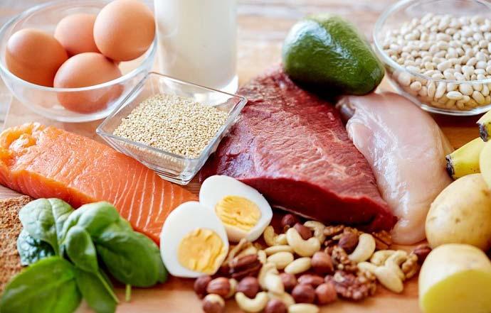 نشانه های بالا بودن میزان پروتئین در بدن شما