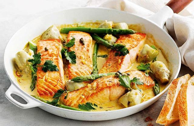 خاصیت بی نظیر ماهی سالمون