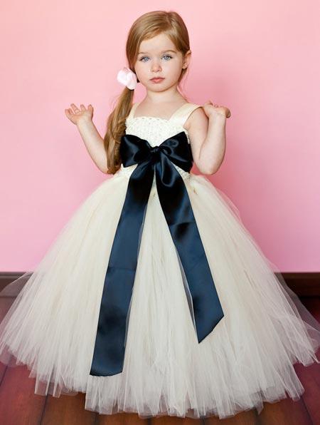 مدل های جدید و زیبای لباس عروس بچه گانه